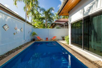 3 Bedroom pool Villa Luna for rent in Chalong