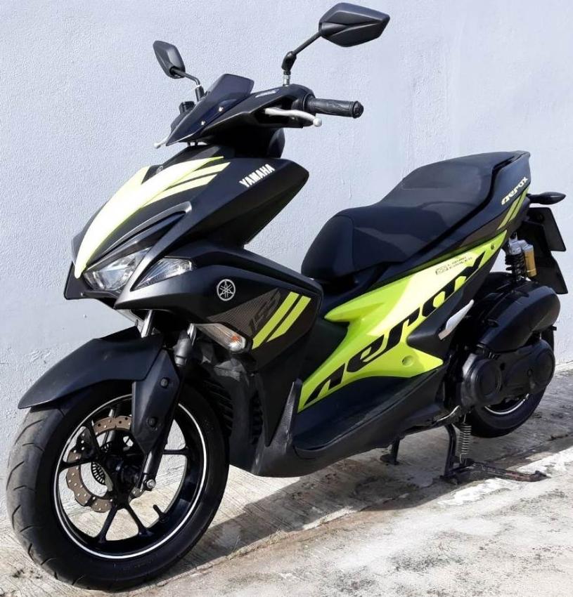 12 2017 Yamaha Aerox 155 R