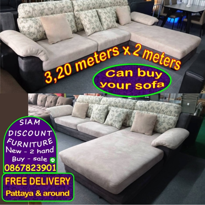 Sofa - Sofa bed - Table - Chair - Desk - Bed - Appliance and more FREE