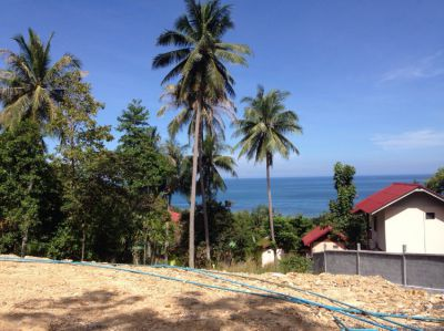 Land for sale Haad Yao Koh Phangan sea view 5 minutes from the beach