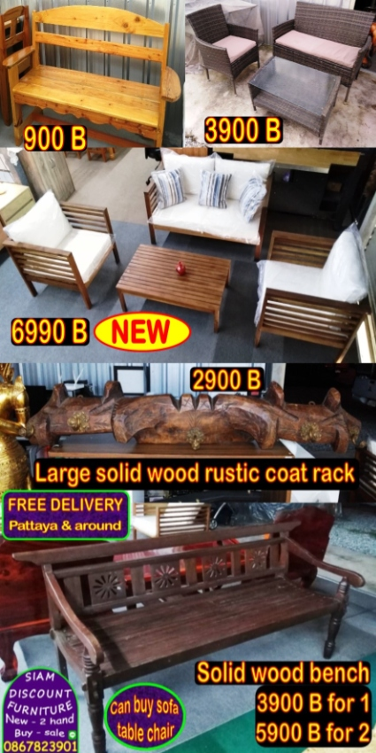 *Sofa *Sofa bed *Table *Chair *Desk *Bed *Appliance *FREE delivery