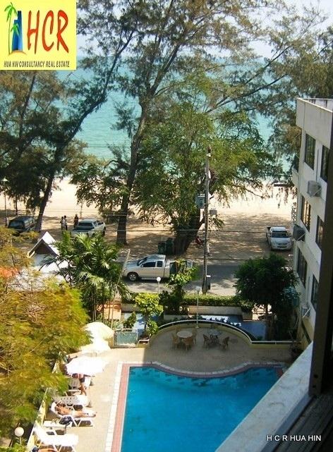 48 Sqm Condo Centre of Cha Am and Beach front Sea view