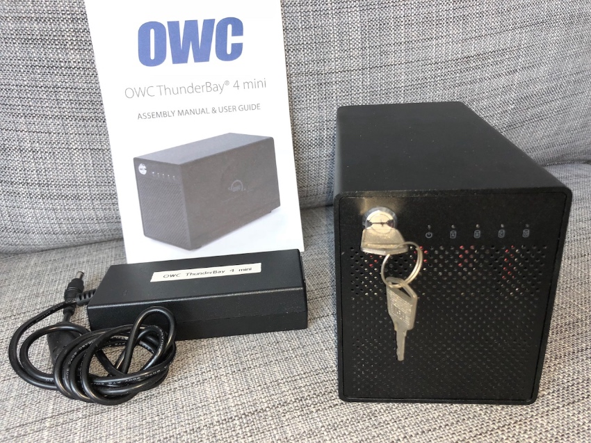 OWC Thunderbay 4 Mini, Enclosure for 4x HDD or SSD in 2.5