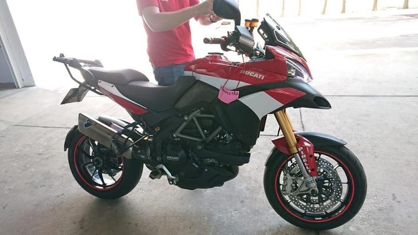 Full Ohlin's Ducati Multistrada S