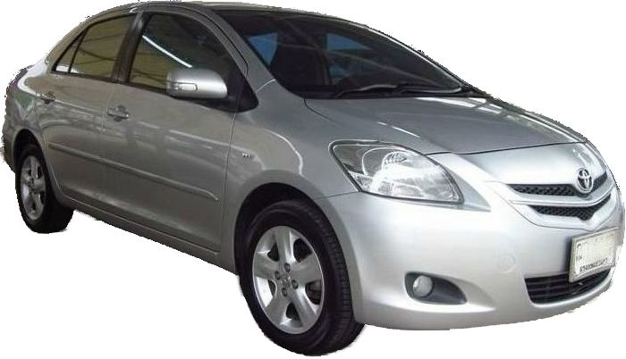 Toyota Vios 1,5 for long term rentals