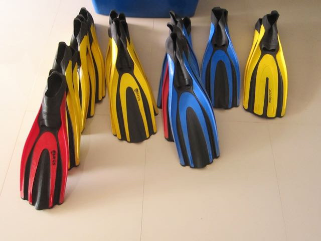 Mares diving fins - REDUCED