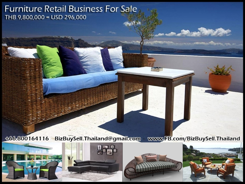 Furniture Retail Business for Sale in Hua Hin