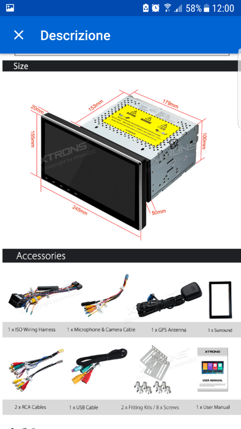 Car Radio Android TV 10 inch | Cars Parts & Accessories | Jomtien