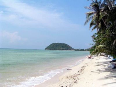 For sale land beachfront Laem Yai Beach Koh Samui 5.416m ² with chanot