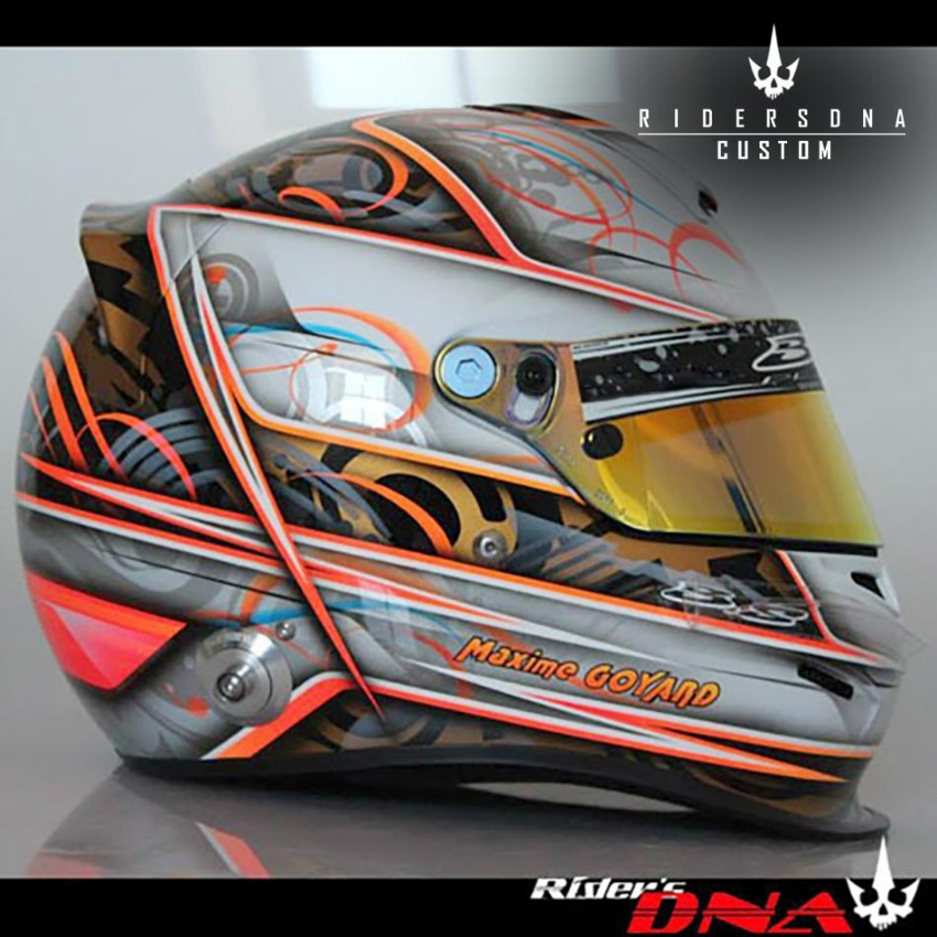 Custom Paint For Car Racing Drag Nascar Bell Arai