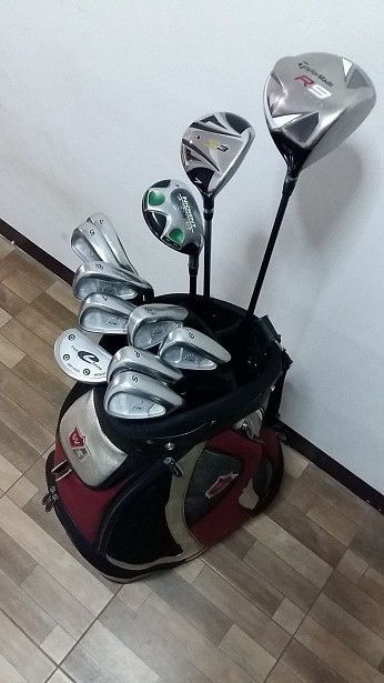 taylormade golf full set with bag