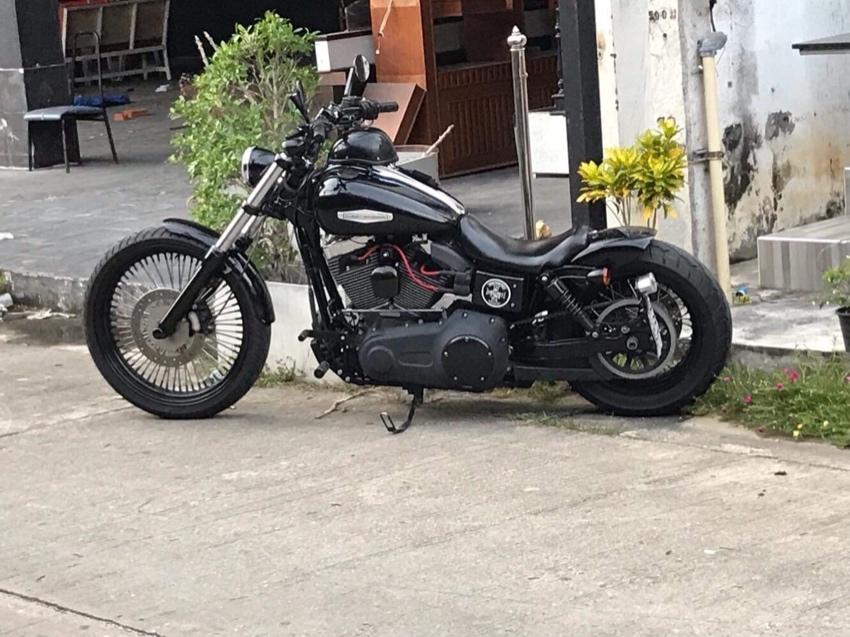 Harley Davidson Wideglide 1584ccm 2010 mod