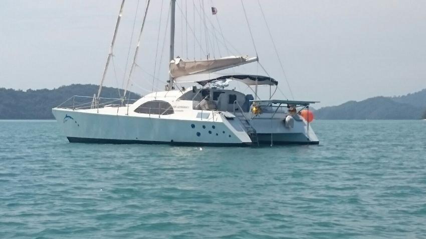40 foot cruising catamaran Kellsal Tonga MK2