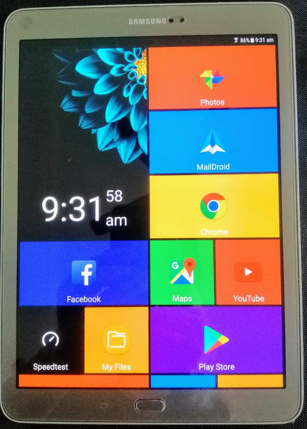 samsung tab s2 gold 9.7 inch as new condition