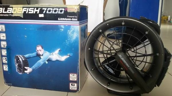 Sea Scooter propulsion vehicle
