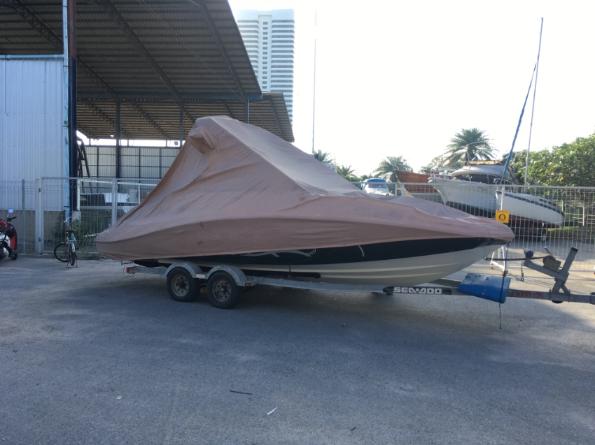 510HP Twin Jet engine Wake Boat