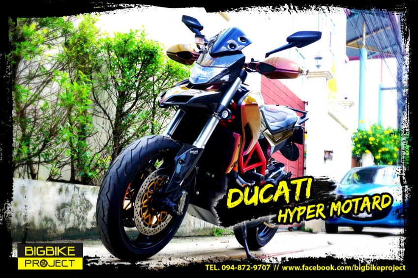 Ducati Hyper-Motard with many extras