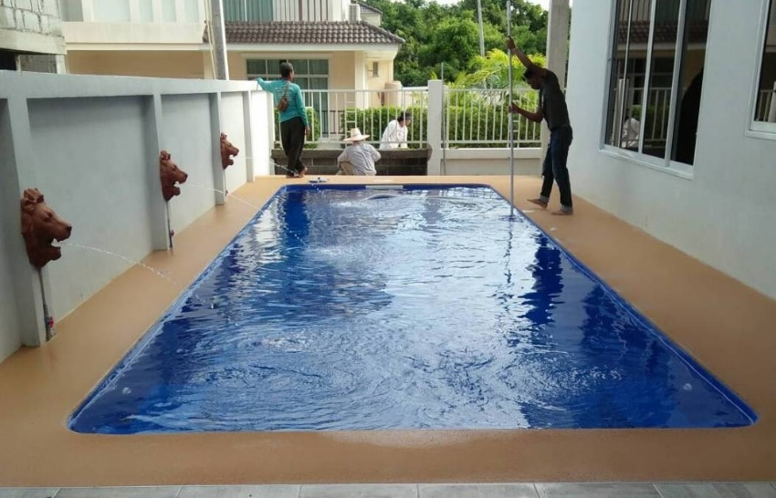 Build a Beautiful 10m Swimming Pool