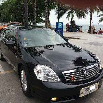 Reduced to: 249,000-Nissan Teana 230JM-Diamond Black/Cream Interior