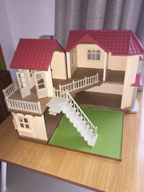Sylvanian Family Doll House with lights House ฿1800 Accessories listed