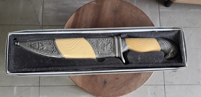 Beautiful large decorative collectible knife