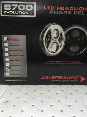 LED Headlight, J.W Speaker 7
