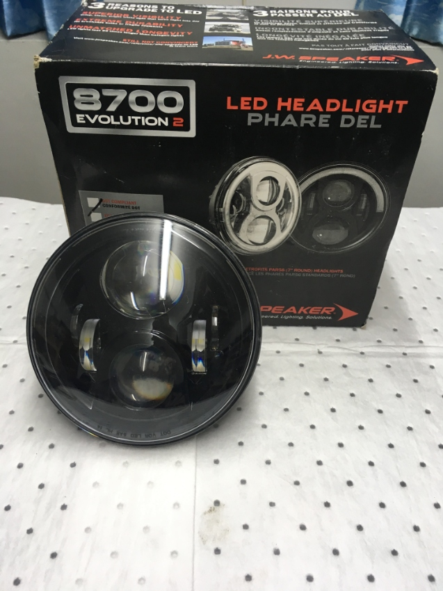 LED Headlight, J.W Speaker 7