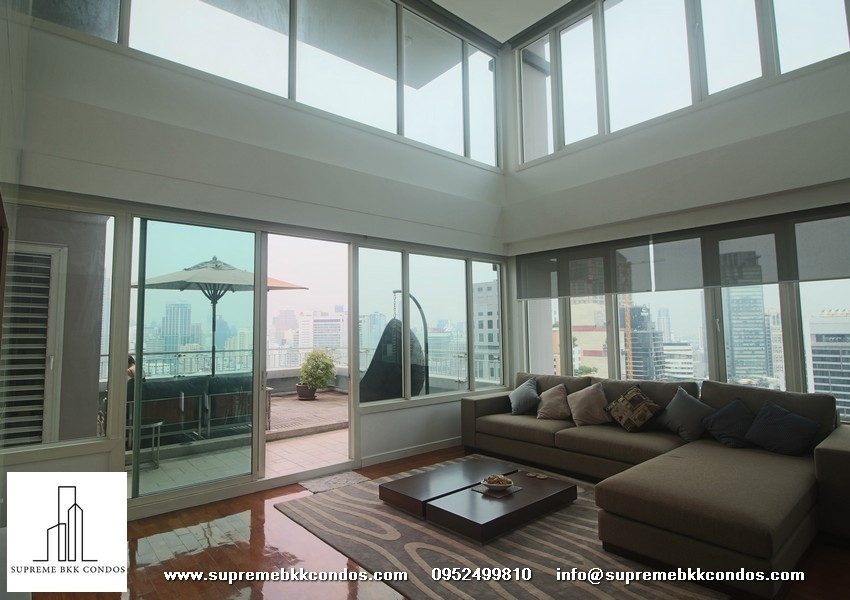 Baan Siri 24 Luxury Duplex Penthouse recently renovated 4 bed 5 Bath