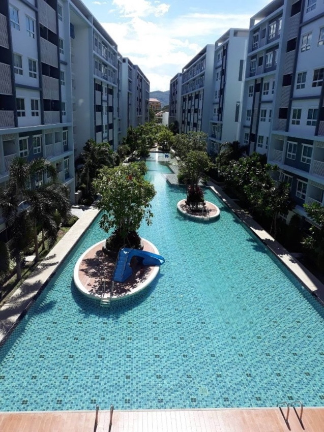 The Trust Hua Hin Soi 5, 2 Bedroom condo reduced for sale