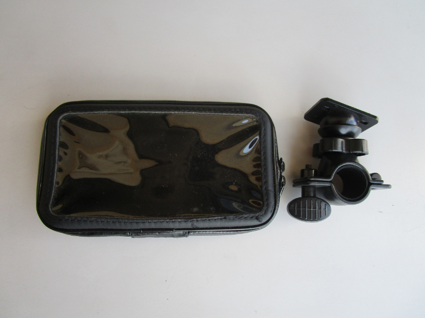 Motorcycle Mount & Waterproof Case