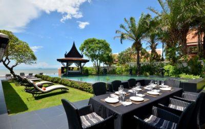 Pattaya Jomtien 5 Star Beachfront Villa Sale