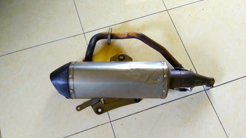 Honda Forza (old model 300cc) Acropovich Original exhaust