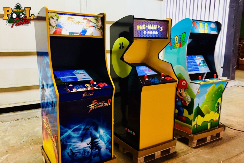 Stand Arcade Video Game