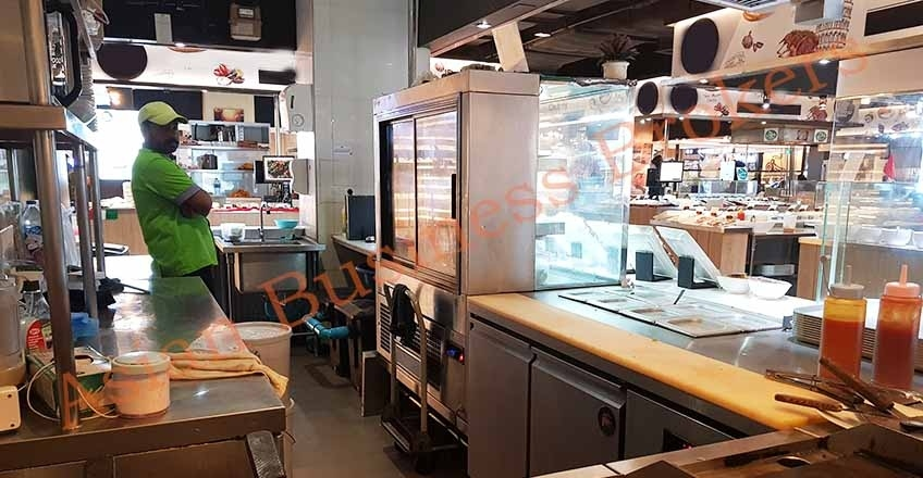 0130002 Food Kiosk in Popular Food Court in MBK for Sale