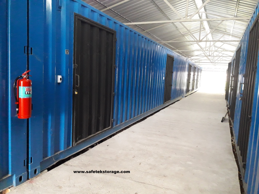 Storage Units available @ Safetek Storage
