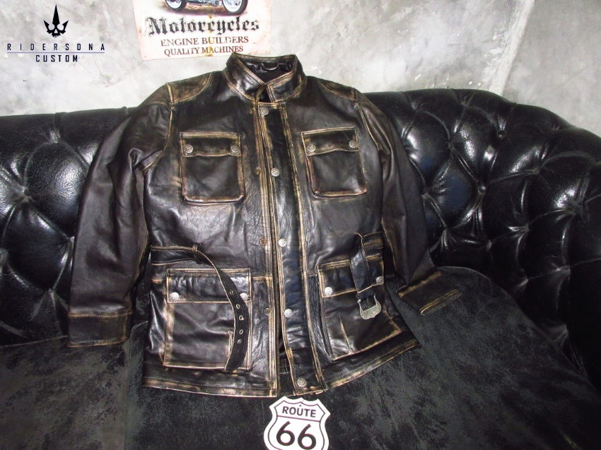 Motorcycle Jacket Route 66