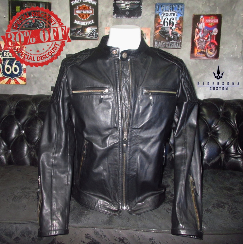 Leather Jacket Route 66
