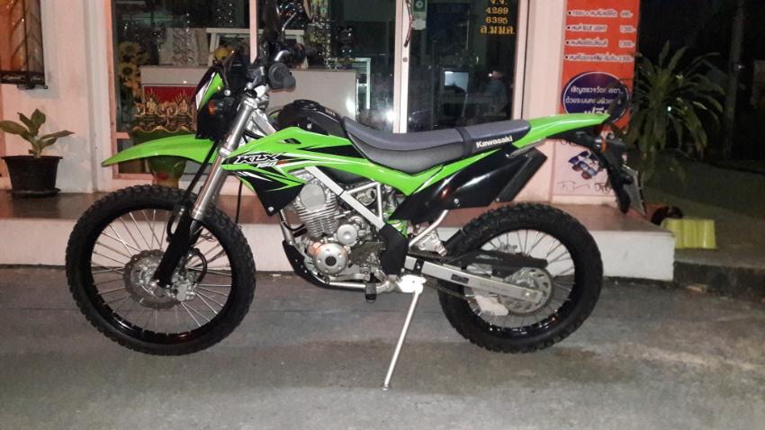 Kawasaki KLX BF for rental