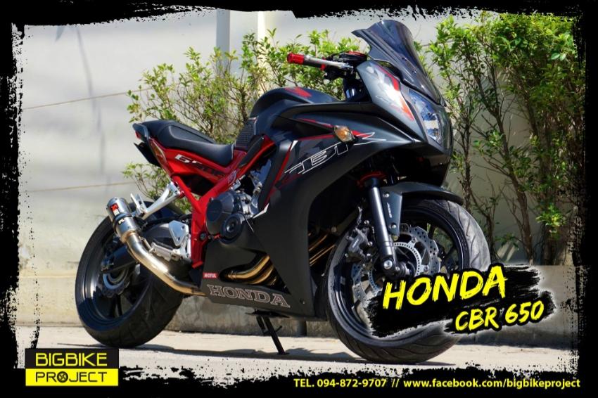 Sell Honda CBR650 full warranty
