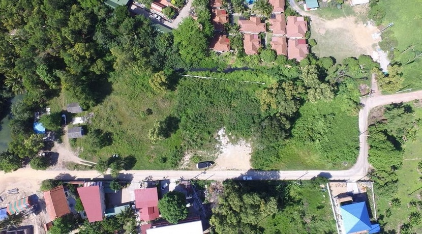 For sale land Bophut Koh Samui at 70 m from the beach (4.319 m²)