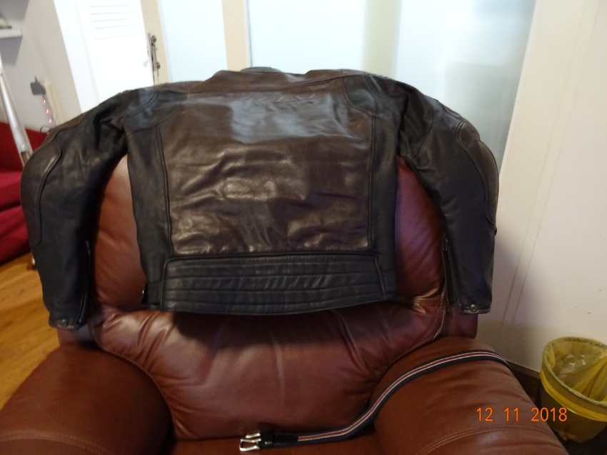 Dainese Leather Jacket with armour