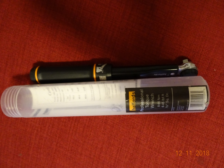 Halfords Torque wrench