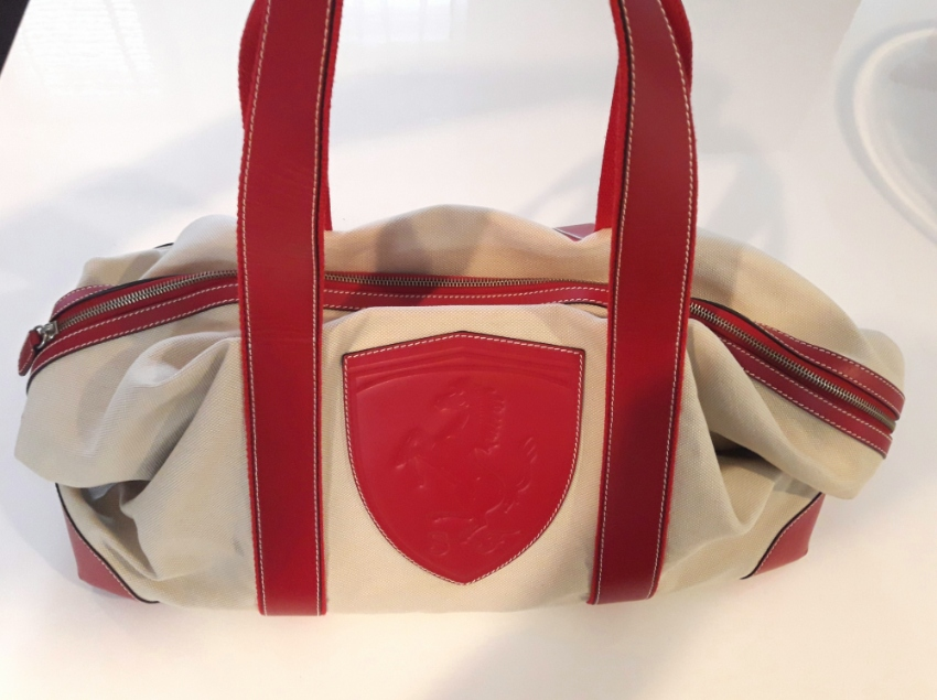 Ferrari F1Ltd Edition Luxury Weekend /Duffel Bag