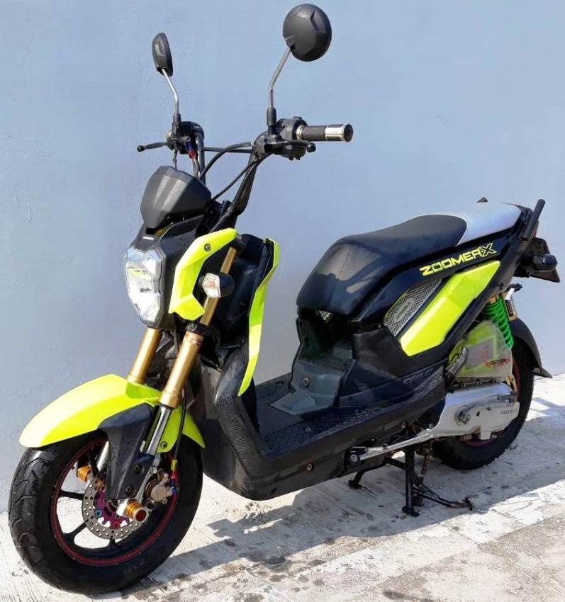 10/2015 Honda Zoomer X - 10.xxx km