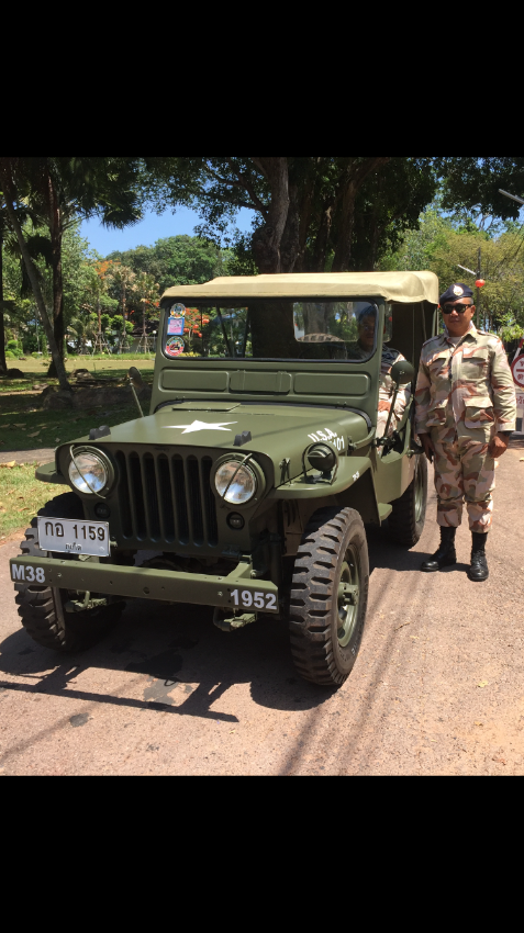 Jeep Willys Army M38