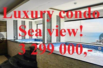 49m2 Luxury Condo Sea View Cosy Beach FINANCE AVAILABLE