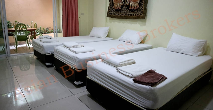 1202011 38-Room Guesthouse near Jomtien Beach for Freehold Sale