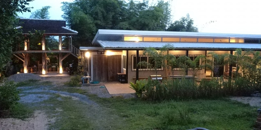Cool House on over 1 Rai of Organic Permaculture Land