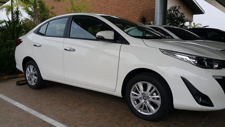 Toyota Yaris Ativ 2018 only 499 Baht / day