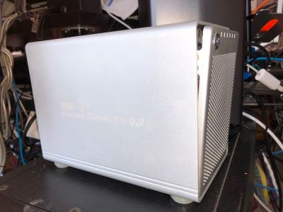 Hard Drive enclosure -OWC Mercury Elite Pro 4-bay with RAID for 4 HD's